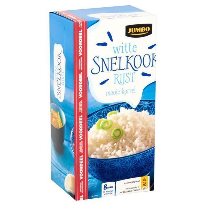 Jumbo Witte Snelkookrijst Voordeelverpakking 1 kg (1kg)