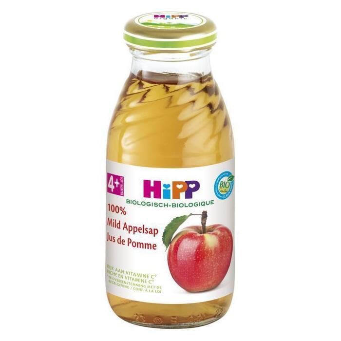 Hipp 4m Sap appel mild bio (200ml)