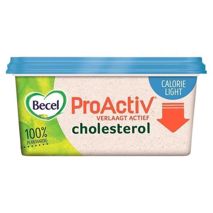 Becel ProActiv calorie light voor op brood (kuipje, 500g)