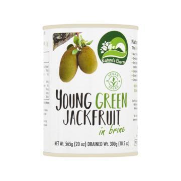 Nature's Charm young green jackfruit in brine blik 565 g (565g)