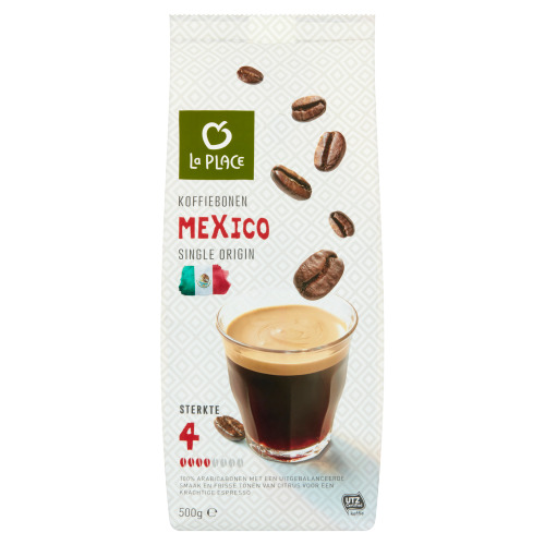 La Place Koffiebonen Mexico Single Origin 500 g (500g)