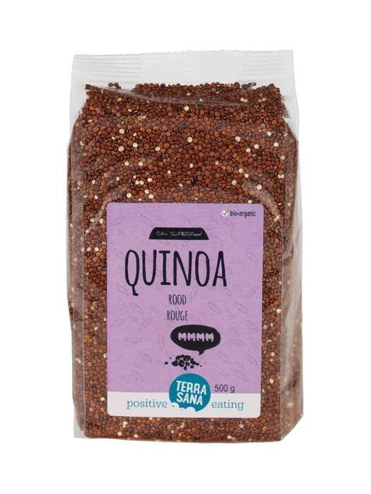 SUPER Quinoa Rood TerraSana 500g (500g)
