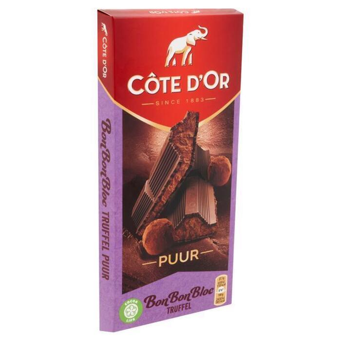 Cote d'Or BonBonBloc truffel puur (190g)