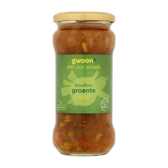 g'woon Bouillon met groente (34cl)