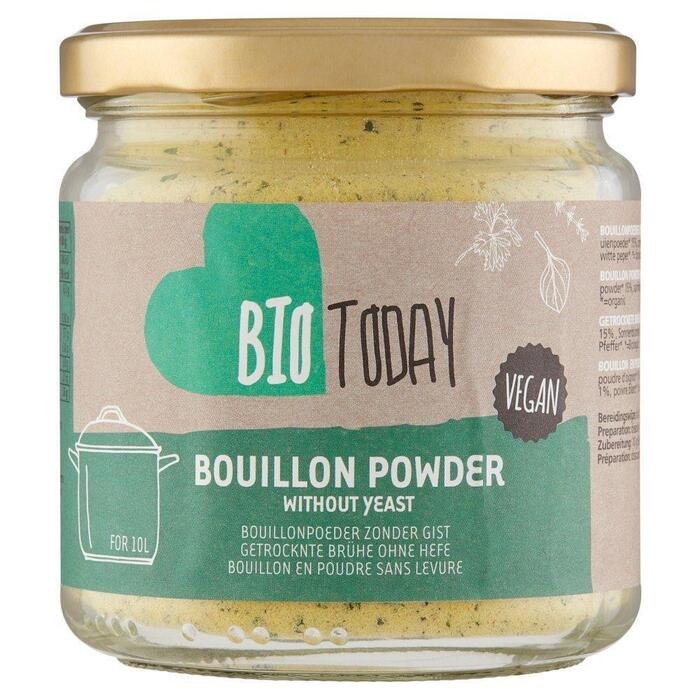 Bio Today Groente Bouillon Poeder Zonder Gist 200g (200g)