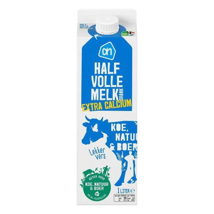 halfvolle melk calcium (pak, 1L)