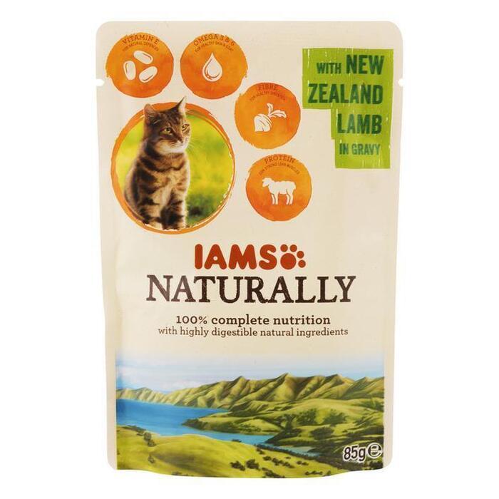 IAMS Naturally cat adult lam in jus (85g)