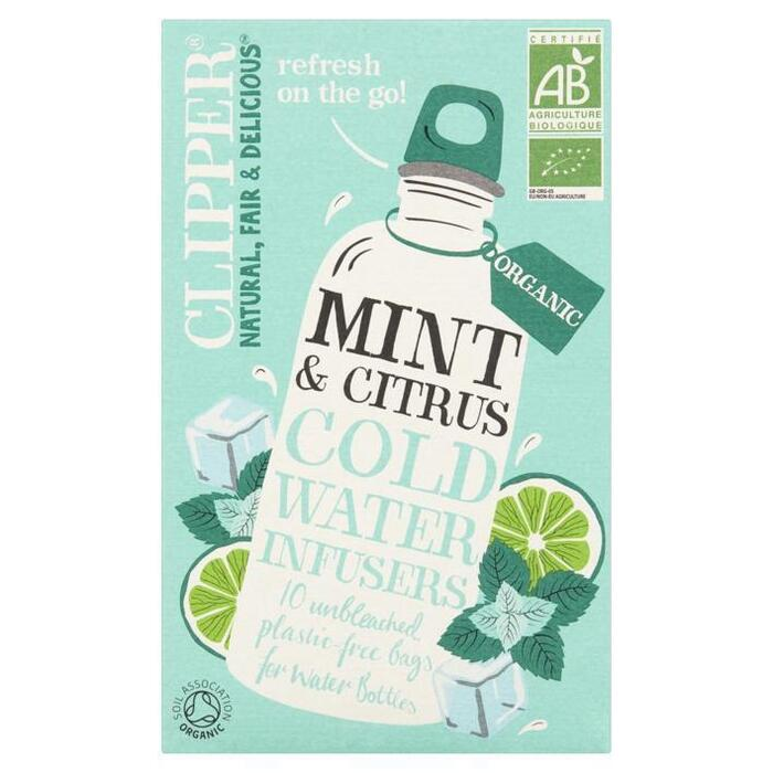 Clipper Cold Water Inf Mint & Citrus (10 × 27g)