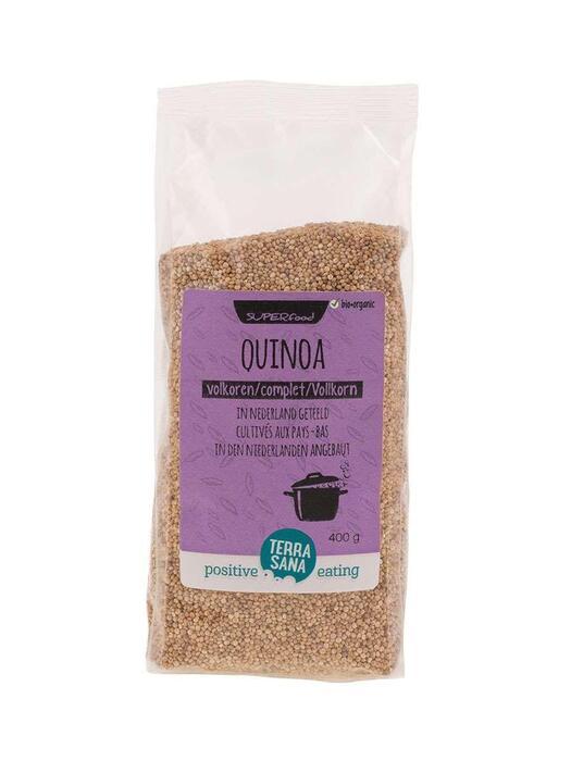 NEDERLANDSE Quinoa volkoren TerraSana 400g (400g)