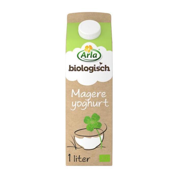 Biologische Magere yoghurt (Stuk, 1L)