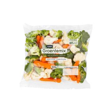 Jumbo Groentemix Peen, Bloemkool & Broccoli 400 g (400g)