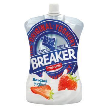 Breaker aardbei Yoghurt (Stuk, 200g)