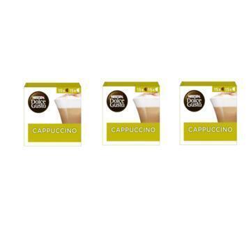 Nescafé Dolce Gusto Cappuccino Capsules 3 x 349,5 g (3 × 350g)