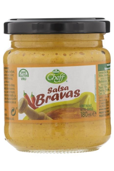 Chovi Cheff Salsa bravas (180ml)