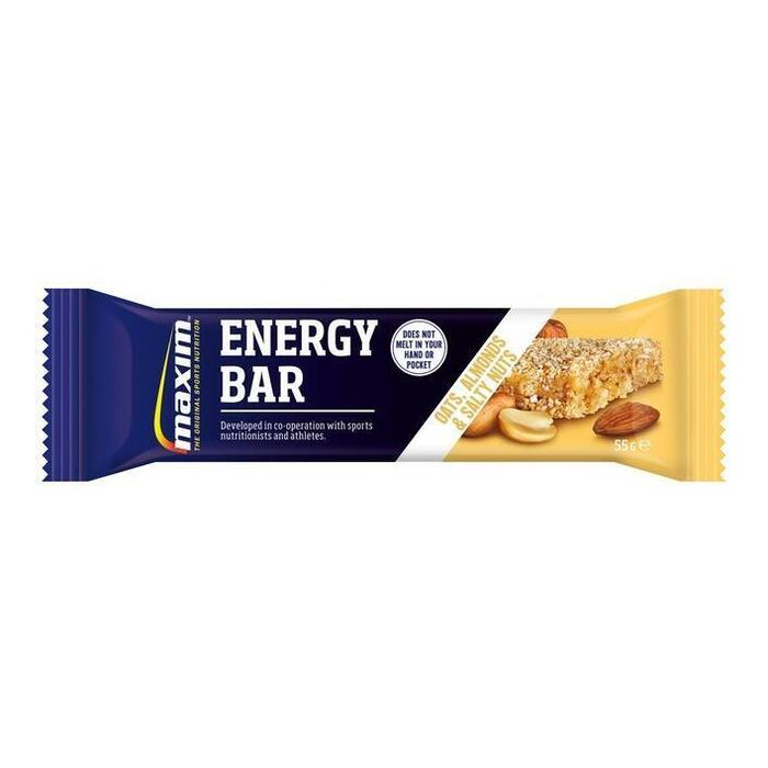 Oats, almonds and salty nuts energy bar (55g)