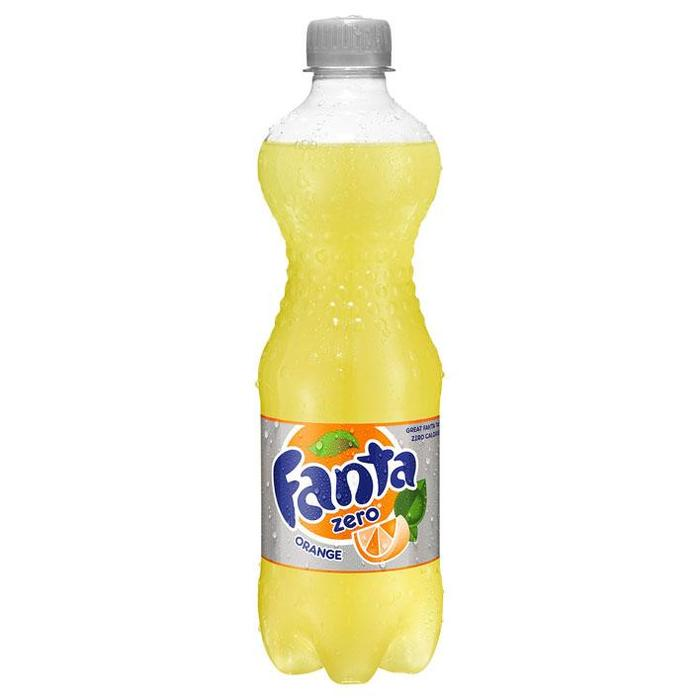 Fanta Zero (petlfes, 0.5L)