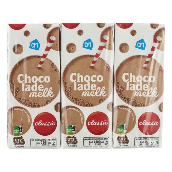 Choco melk vol Classic  (drinkpak, 6 × 200ml)