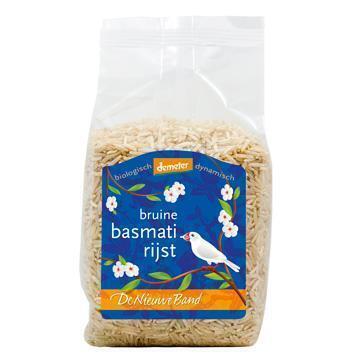Bruine basmatirijst (fair) (500g)