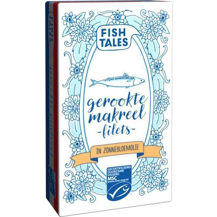 Fish Tales Gerookte hollandse makreel MSC (125g)