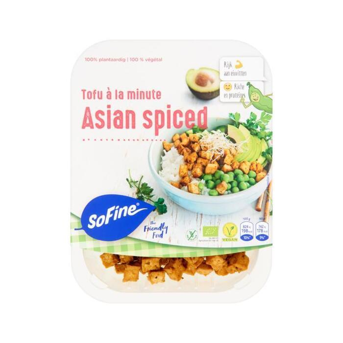 Tofu à la minute Asian Spiced (Stuk, 180g)