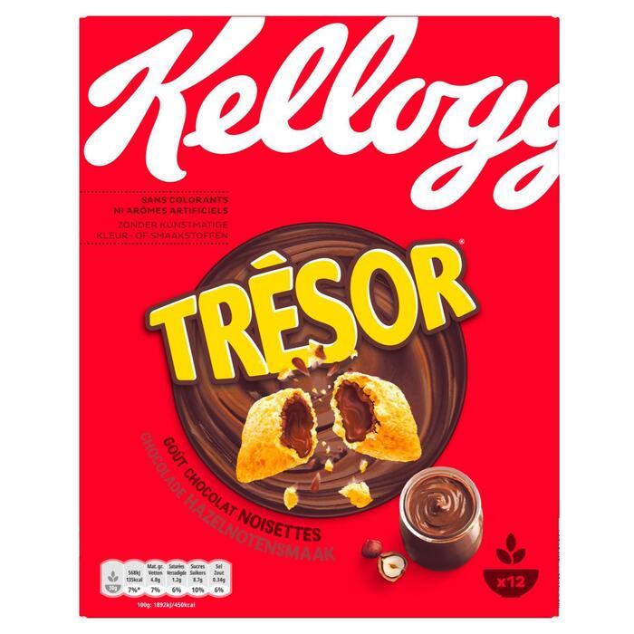 Kellogg's Tresor chocola-hazelnoten (375g)