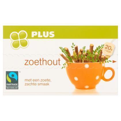 Zoethout Thee Pak 1-kops (40g)