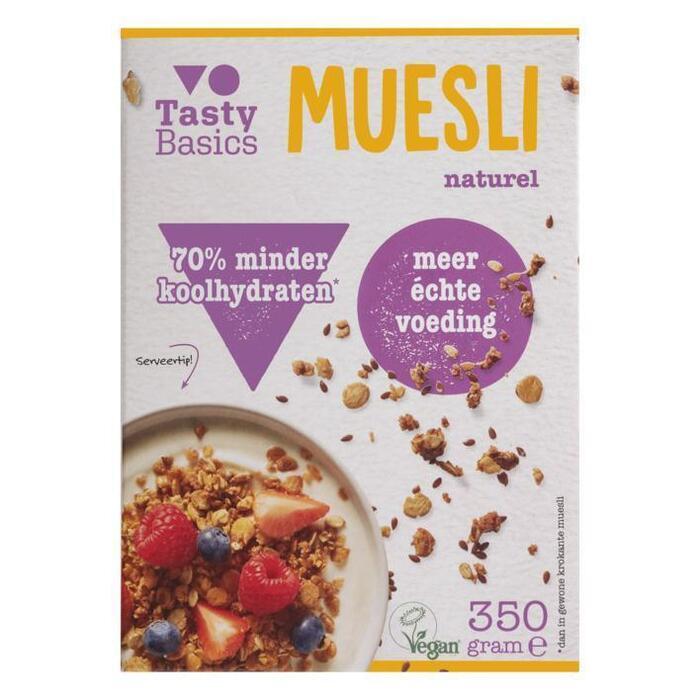 TastyBasics Muesli naturel (350g)