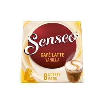 Café latte vanilla koffiepads (92g)