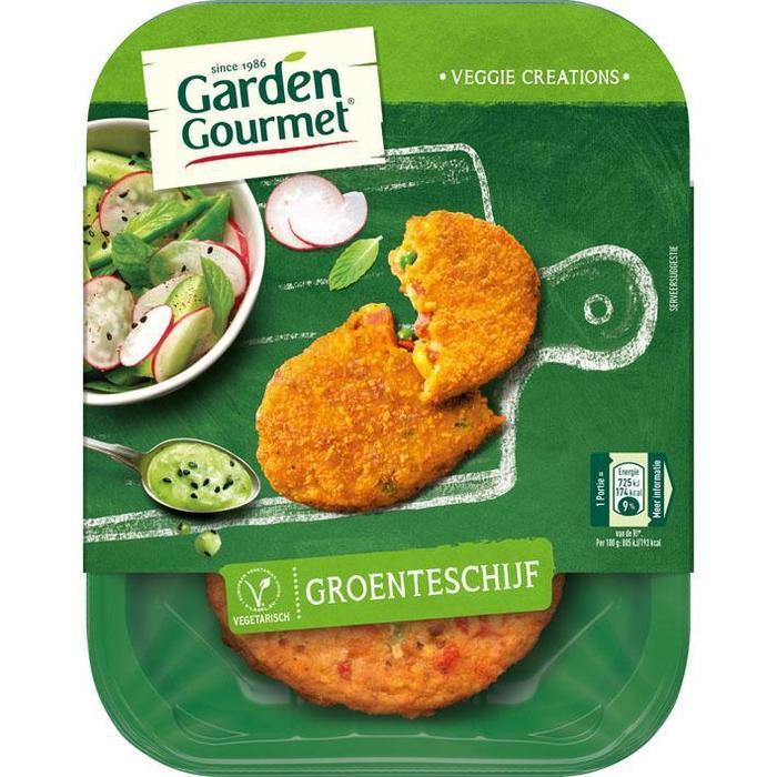Vegetarische Groenteschijf (bak, 180g)