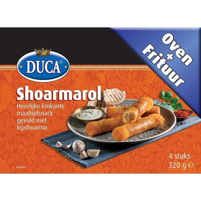 Duca Shoarmarol 4 Stuks 320 g (320g)