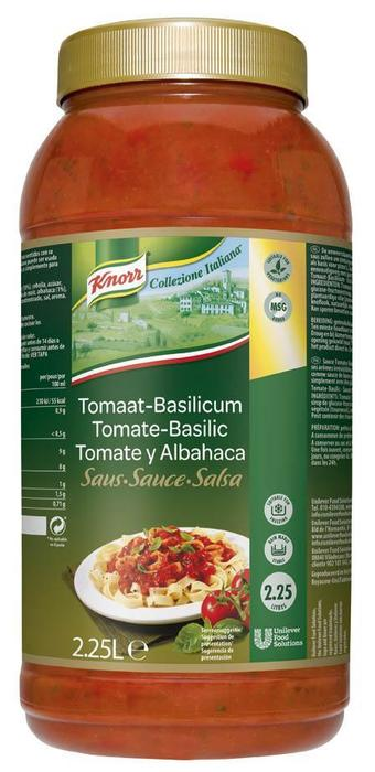 Knorr CI Rtu Tomaat Basilicum 2.25L 2X (2 × 2.25L)