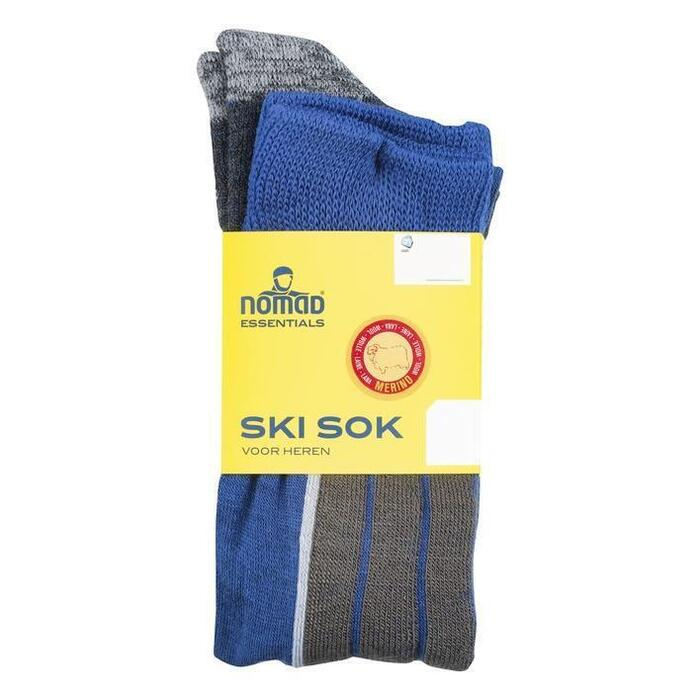 Nomad Heren ski sokken 2paar 43-46