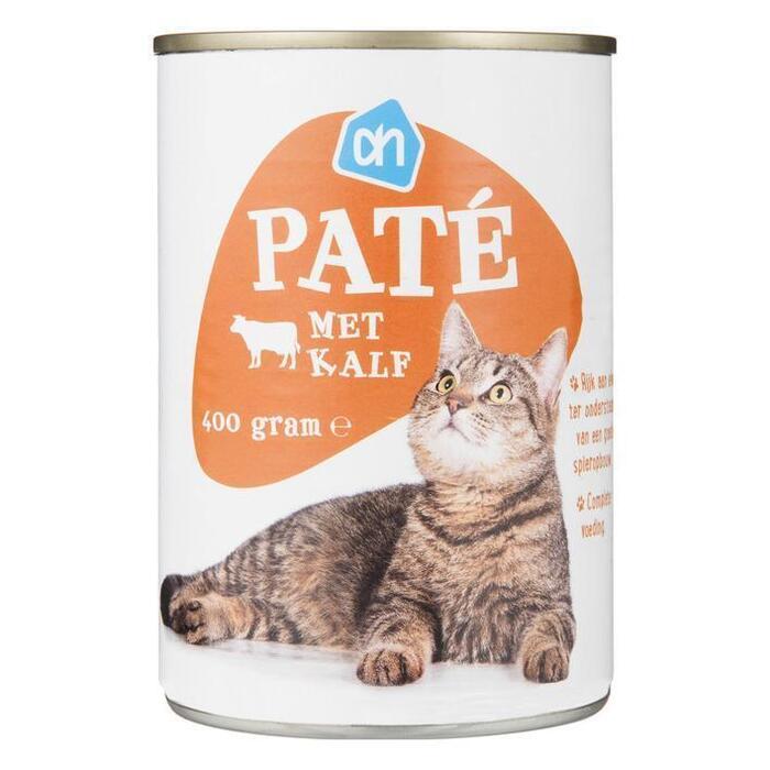 AH Paté met kalf blik (400g)