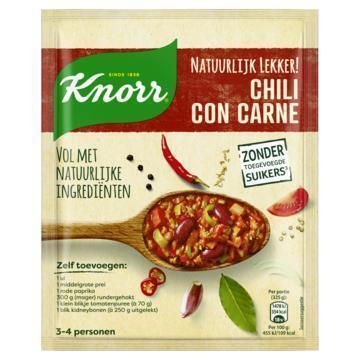 Knorr Natuurlijk Lekker! Maaltijdmix Chili con Carne 47 g (47g)
