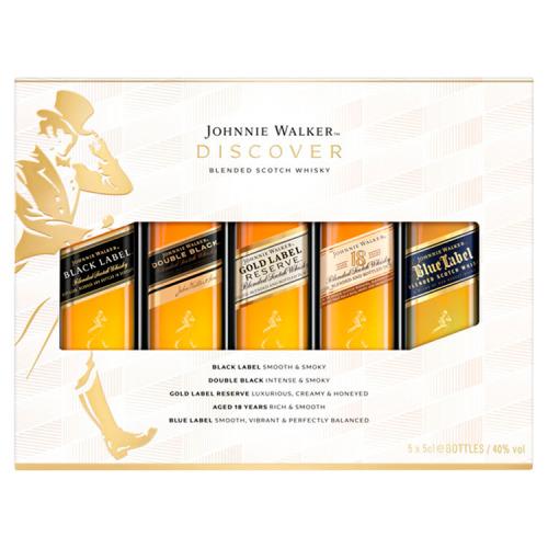 Johnnie Walker Scotch Whisky Set 5 x 50ML (50ml)