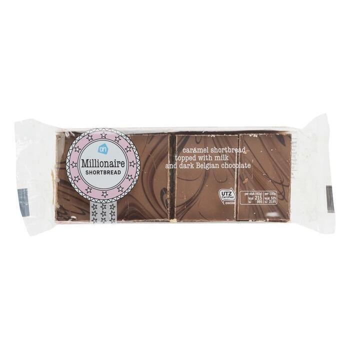 AH Millionaire shortbread (160g)