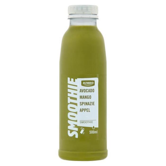 Jumbo Smoothie Avocado Mango Spinazie Appel 500 ml (0.5L)
