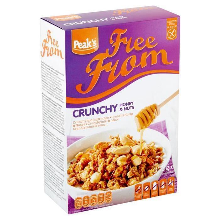 Peak's Free From Crunchy Honing & Noten 300g (300g)