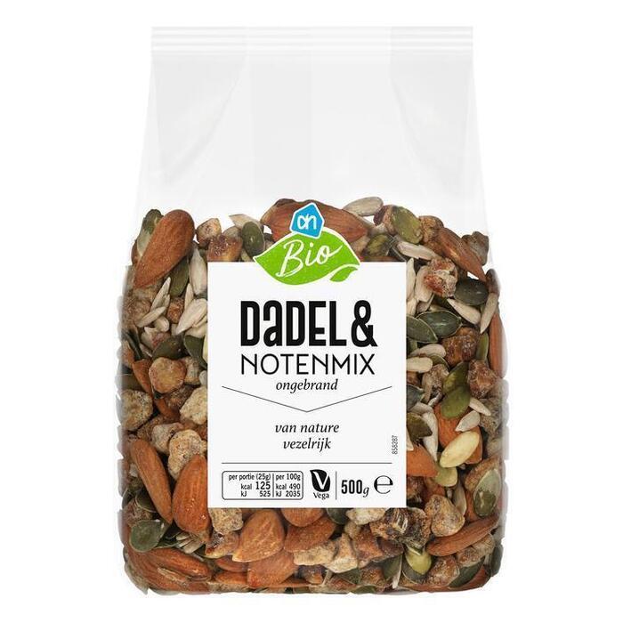 AH Biologisch Dadel & noten mix (500g)