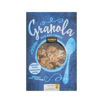 Jumbo Granola Rozijnen, Pitten, Kokoschips, Noten 350g (350g)