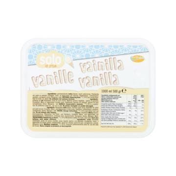 Cool Delight Solo Ice Cream Vanille 1 kg (1L)