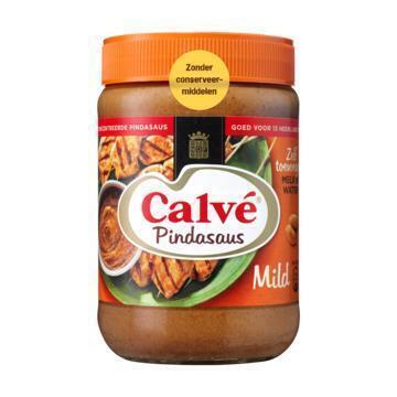 Calvé Pindasaus Mild (pot, 650g)