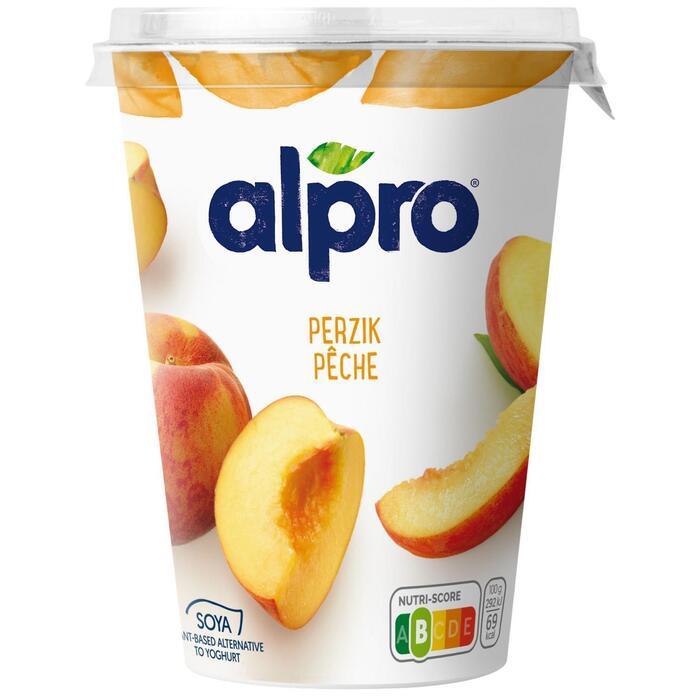 Soya yoghurt perzik (Stuk, 0.5L)