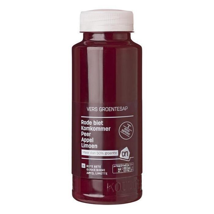 Superjuice Rode Biet en Appel (petfles, 250ml)