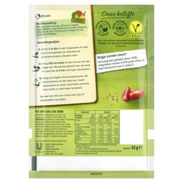 Knorr Maaltijdmix Chili con Carne 46 g (42g)