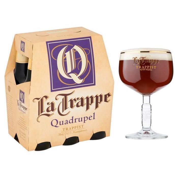 La Trappe Quadrupel Trappist (rol, 6 × 30cl)