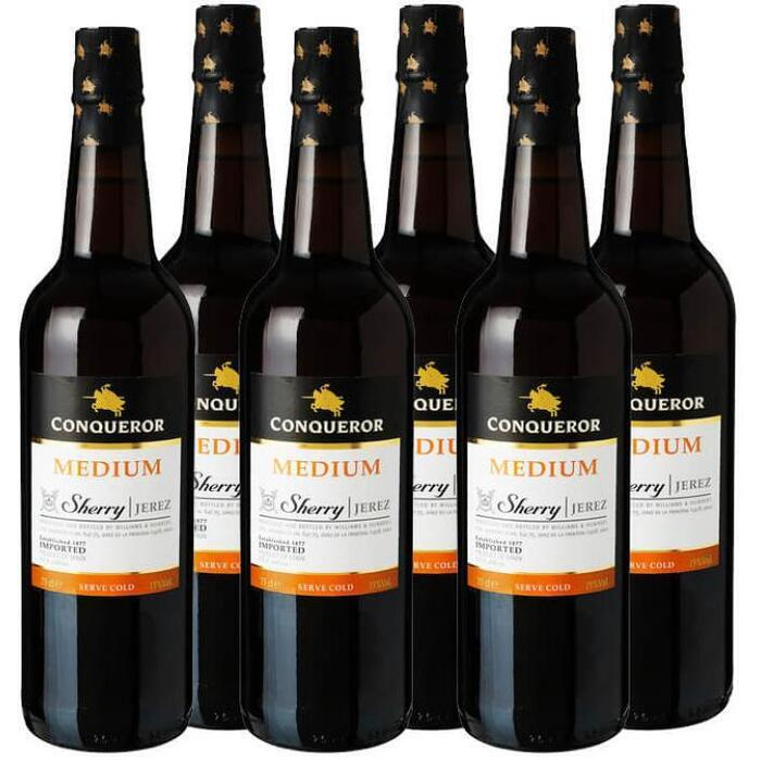 Conqueror Sherry Medium (6 × 0.75L)