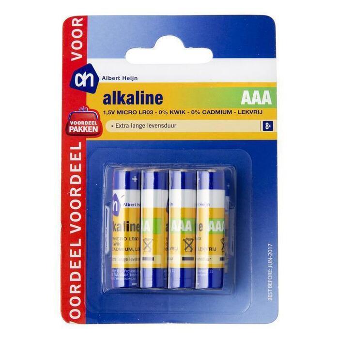 AH Micro AAA alkaline multipack voordeel (8 st.)