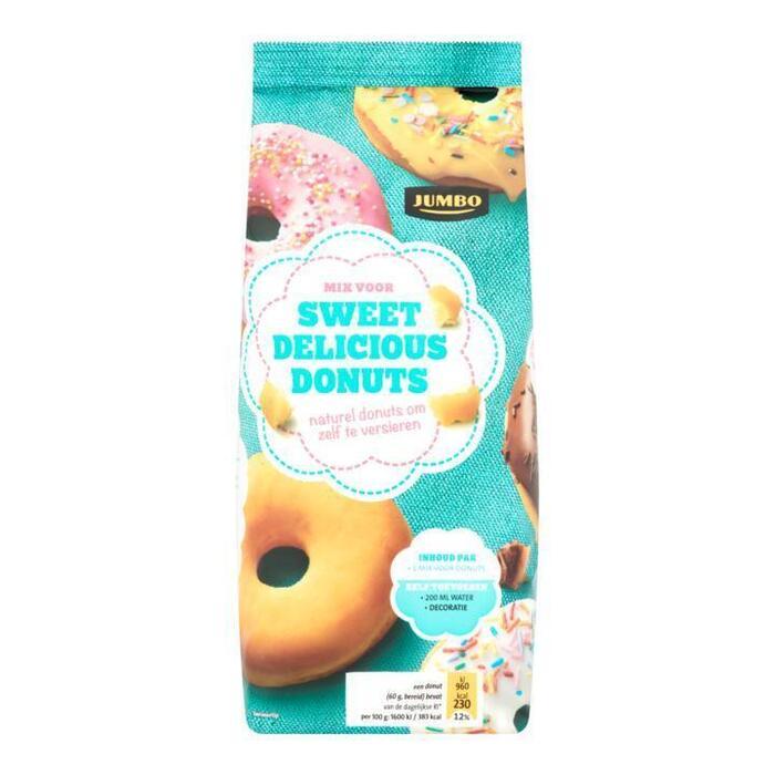 Jumbo Mix voor Sweet Delicious Donuts 400 g (400g)