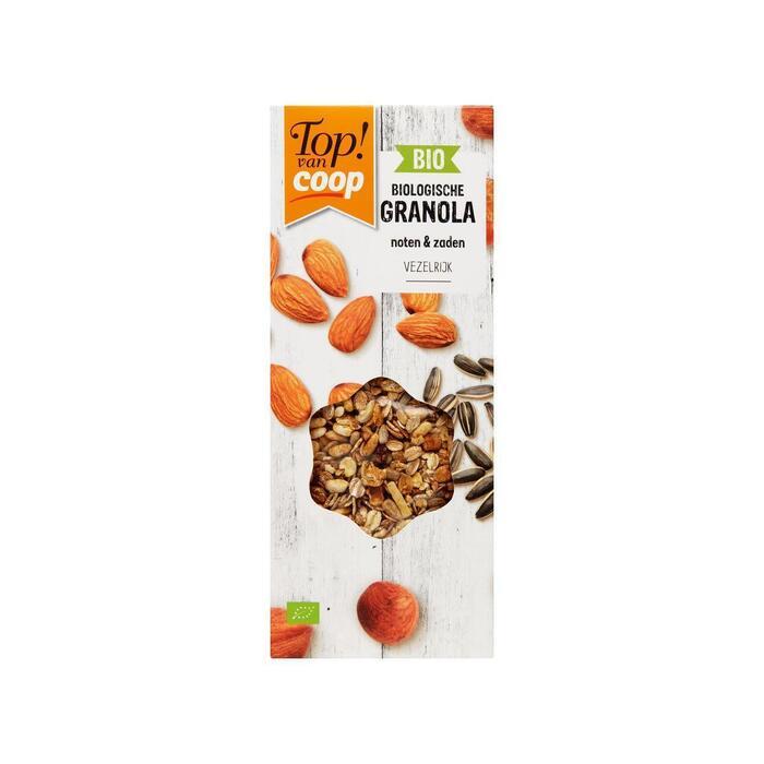 Top! Van Coop Bio granola noten & zaden (350g)